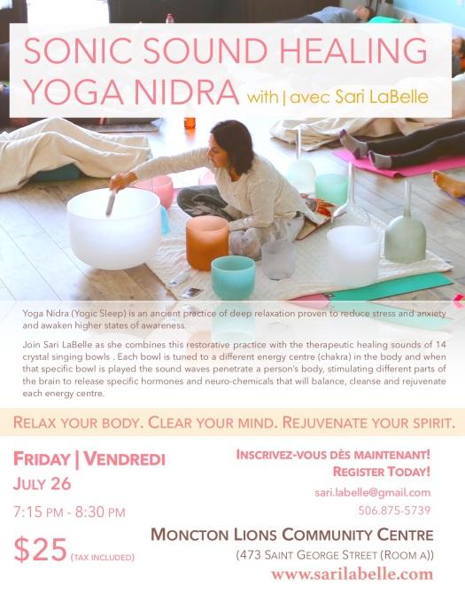 Sound Healing Yoga NIdra